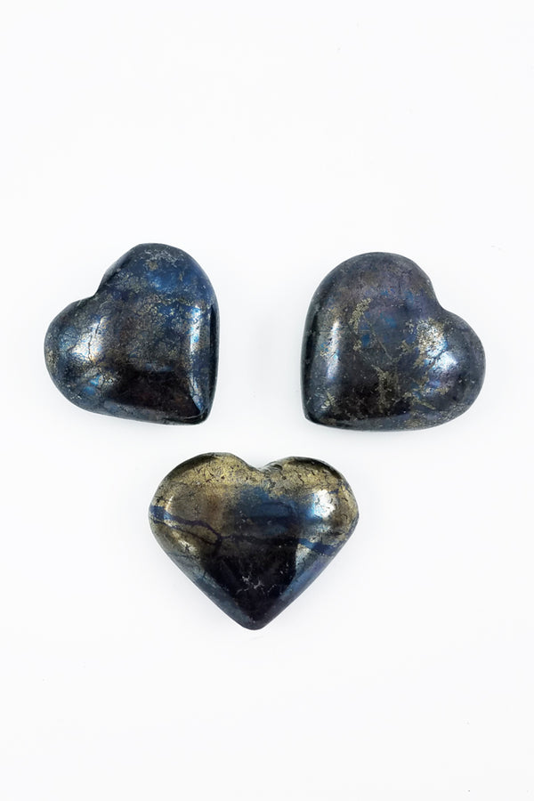 Covellite Heart - Zero Point Crystals