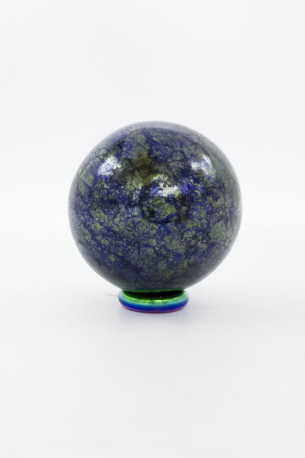Covellite Sphere - Zero Point Crystals