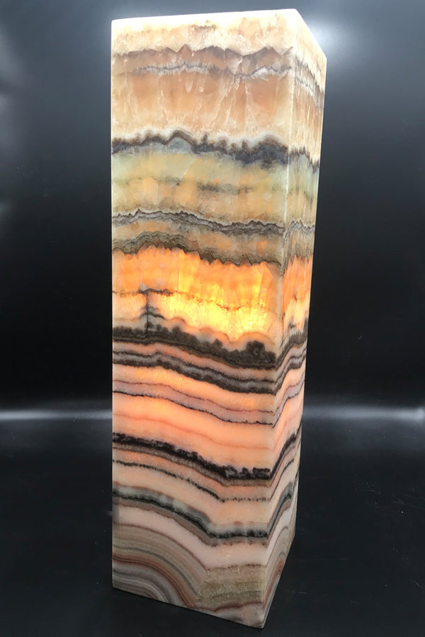 Onyx Light - Square - Zero Point Crystals