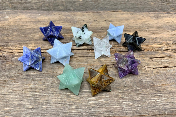 Merkaba (Assorted Natural Stone) - Zero Point Crystals