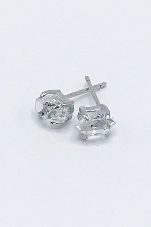 Herkimer Diamond Earrings - Zero Point Crystals