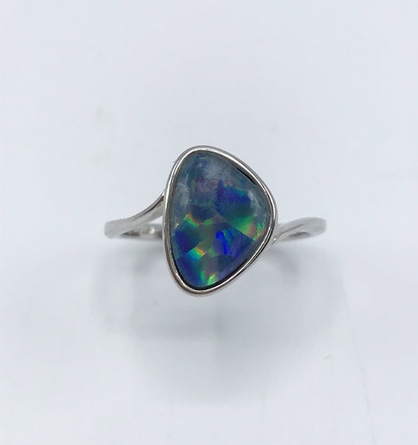 Opal (Idaho) Freeform Ring - Zero Point Crystals