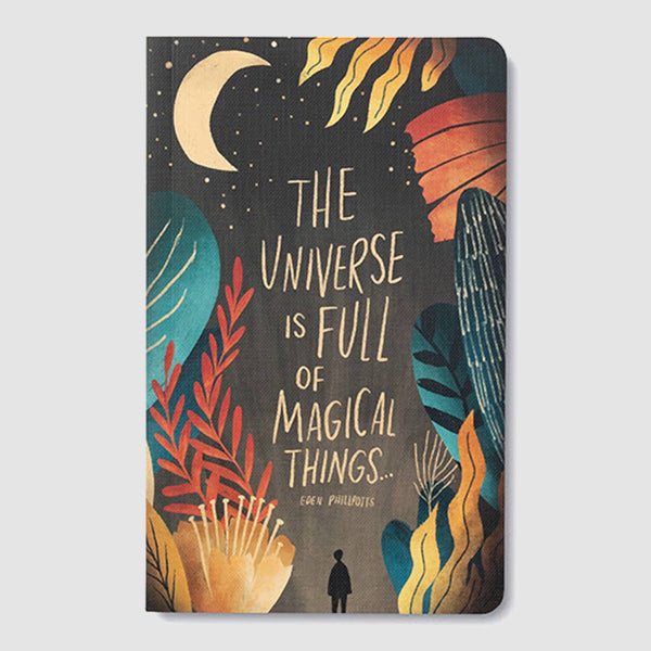 The Universe is Full of Magical Things Journal - Zero Point Crystals
