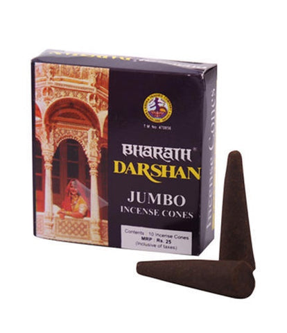 Darshan Incense Cones - Zero Point Crystals