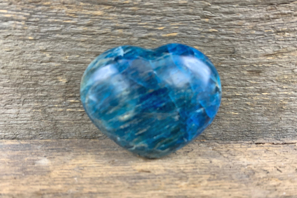 Apatite Heart - Zero Point Crystals