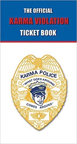 Official Karma Violation Ticket - Zero Point Crystals