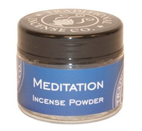 Meditation Powder Incense Jar - Zero Point Crystals