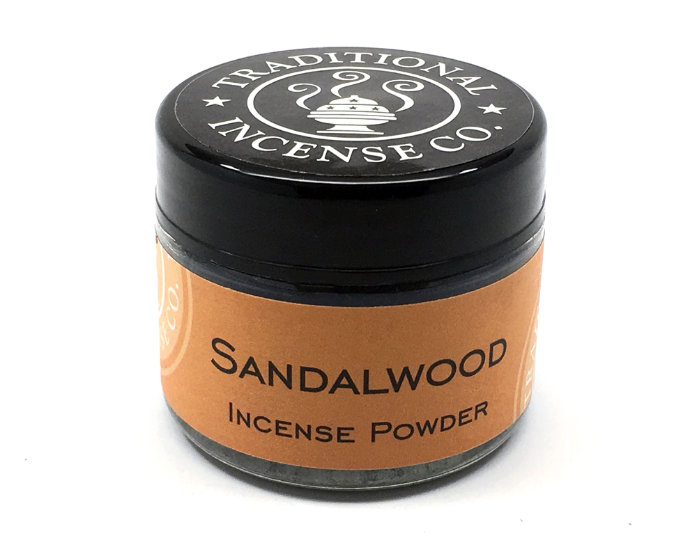 Sandalwood Powder Jar - Zero Point Crystals