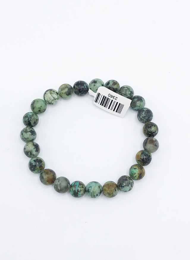 Turquoise Stretch Bracelet - Zero Point Crystals