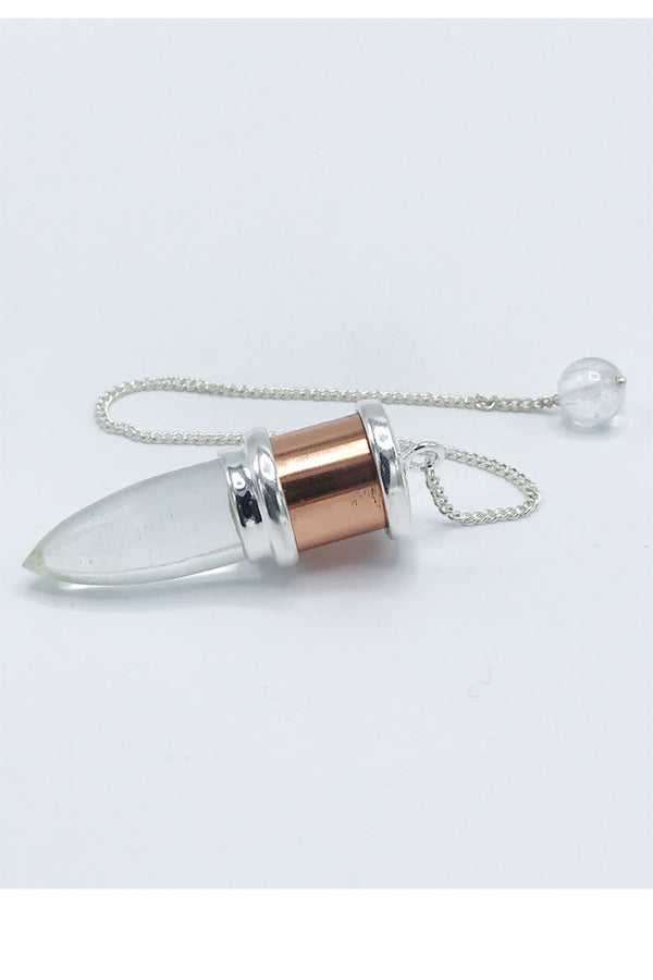 Quartz and Copper Pendulum - Zero Point Crystals