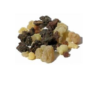 Frankincense and Myrrh Resin .5oz - Zero Point Crystals