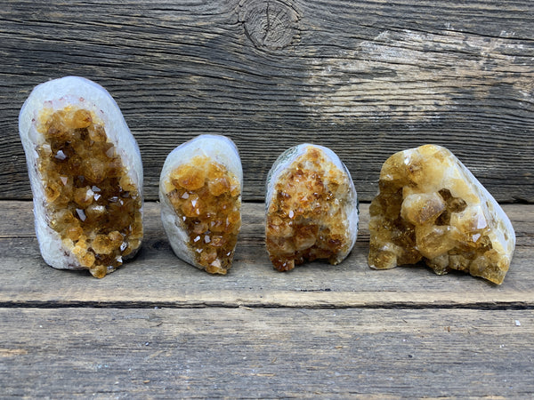 Citrine Cluster - Zero Point Crystals