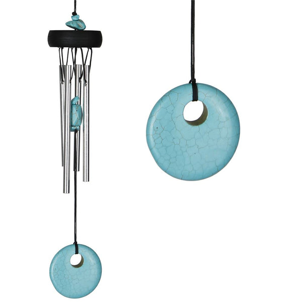 Precious Stone Chimes (Turquoise) - Zero Point Crystals