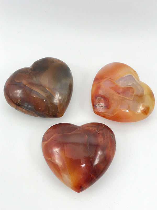 Carnelian Heart - Zero Point Crystals