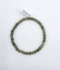 Labradorite Bead (Stretch) Bracelet - Zero Point Crystals