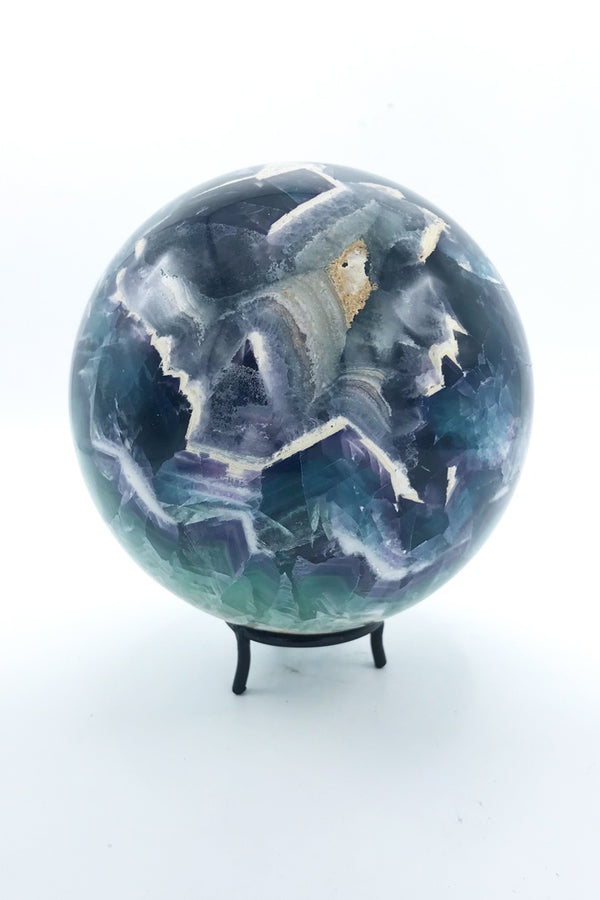Fluorite Sphere - Zero Point Crystals