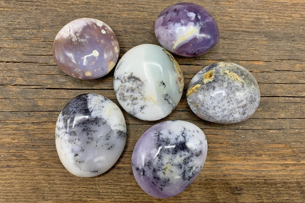 Dendritic Agate Palm Stone - Zero Point Crystals