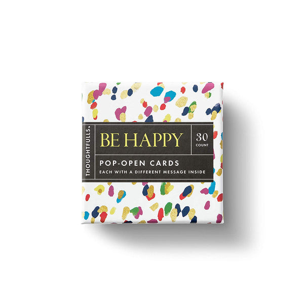 Thoughtfulls - Be Happy - Zero Point Crystals