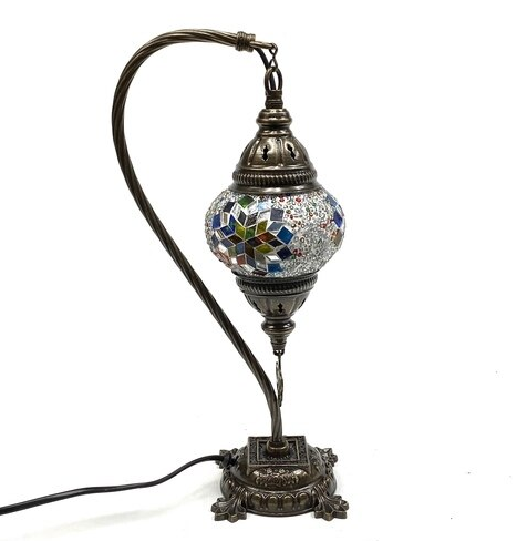 Turkish Mosaic Lamp - Zero Point Crystals