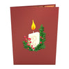 Night Before Christmas Candle Pop-Up Card - Zero Point Crystals