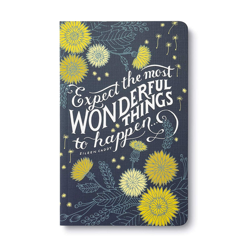 Expect the Most Wonderful Things to Happen Journal - Zero Point Crystals