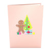 Gingerbread House Pop-Up Card - Zero Point Crystals