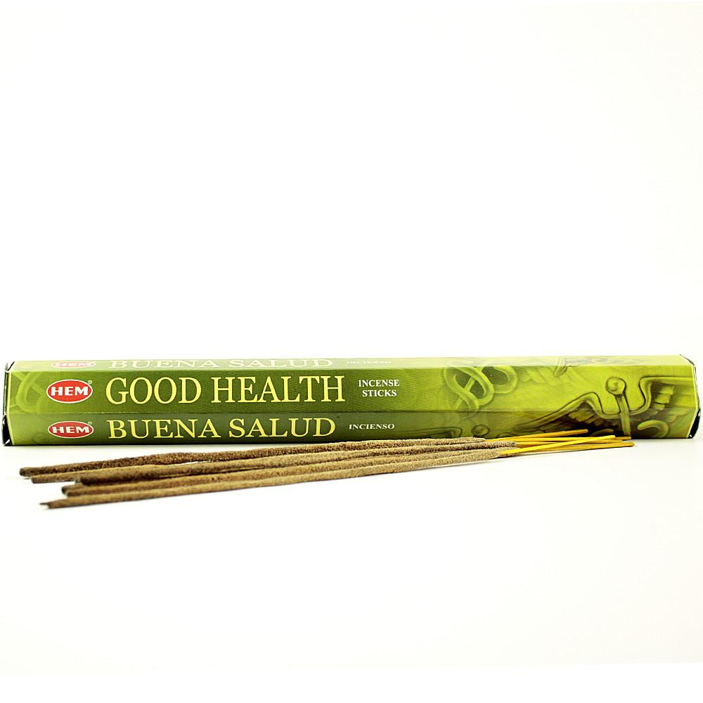 Good Health Incense Zero Point Crystals