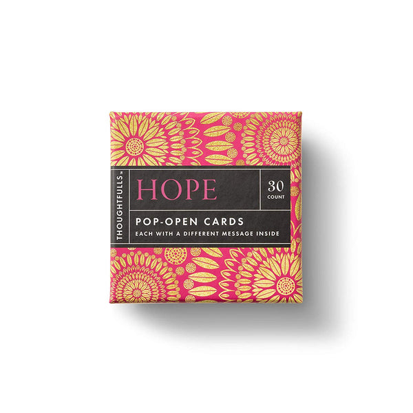 Thoughtfulls Pop-Up Cards -  Hope - Zero Point Crystals
