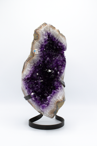 Amethyst on Stand - Zero Point Crystals
