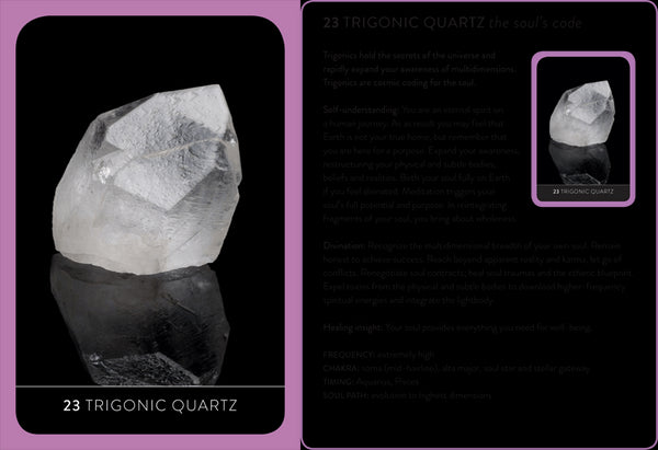 The Crystal Wisdom Healing Oracle Cards - Zero Point Crystals