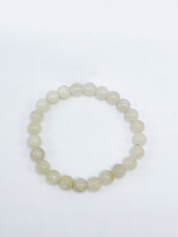 Moonstone Stretch Bracelet - Zero Point Crystals