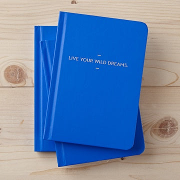 Live Your Wild Dreams Journal - Zero Point Crystals