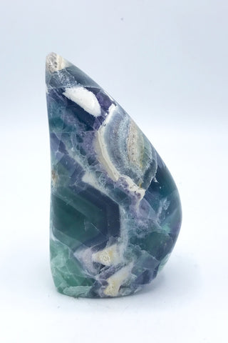 6186 Fluorite Freeform (Polished) - Zero Point Crystals