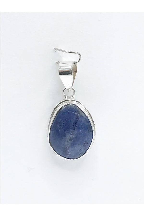 Blue Kyanite Pendant - Zero Point Crystals