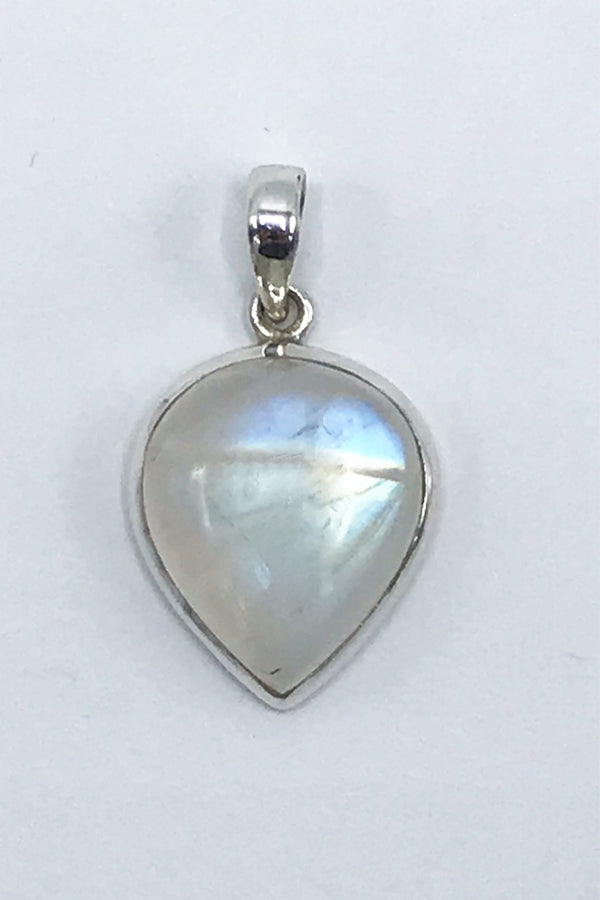 Rainbow Moonstone Pendant - Zero Point Crystals