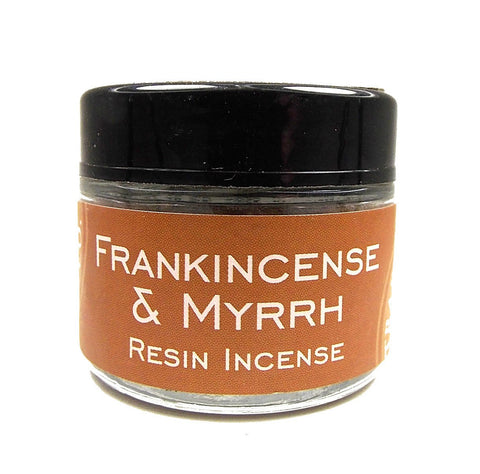 Frankinsence & Myrrh Resin Jar - Zero Point Crystals