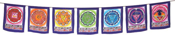 Chakra Flags - Zero Point Crystals