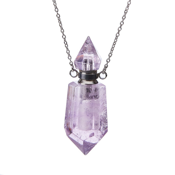Crystal Aromatherapy Pendant - Zero Point Crystals
