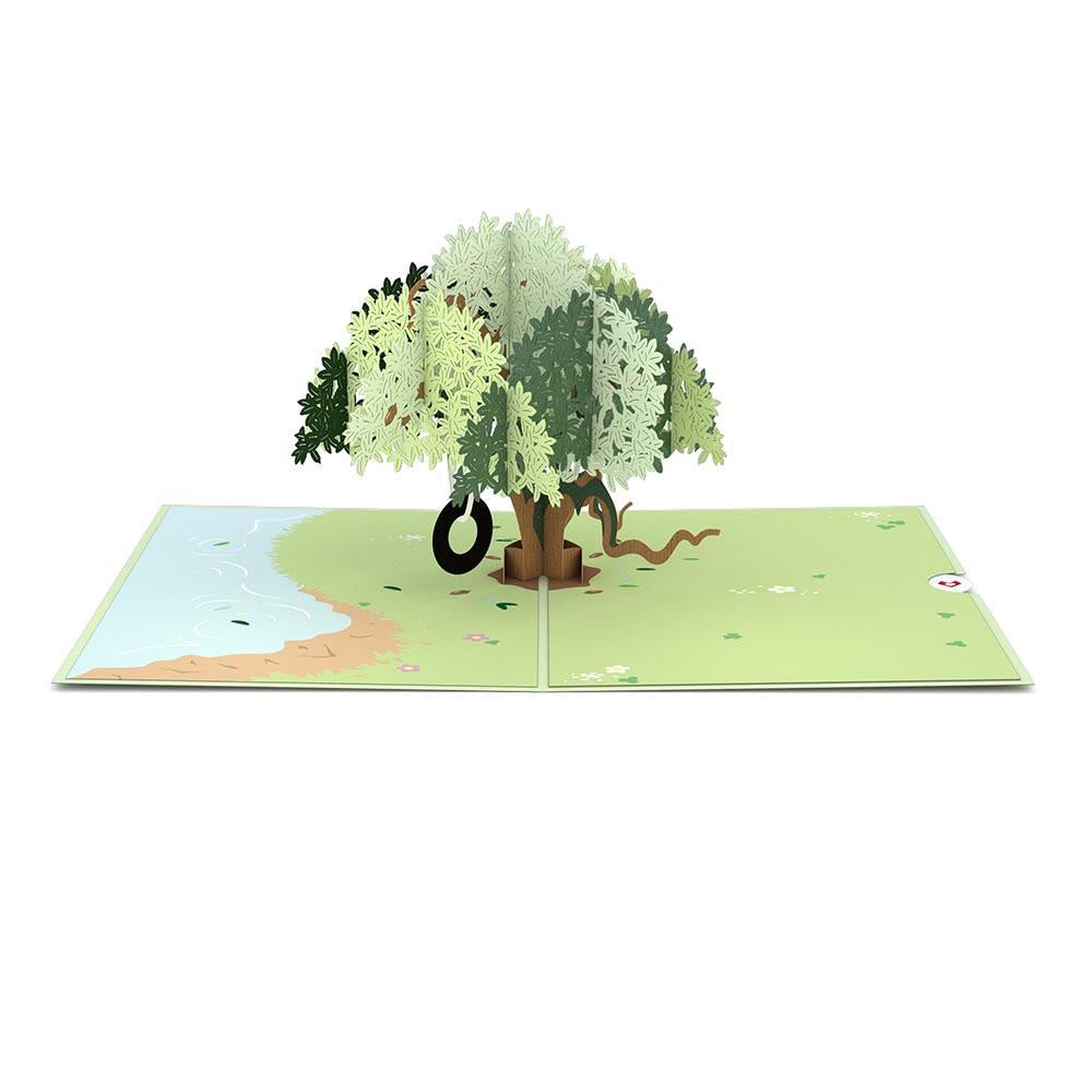Live Oak Pop-Up Card - Zero Point Crystals