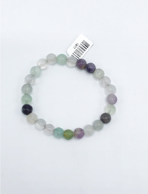 Fluorite Stretch Bracelet - Zero Point Crystals