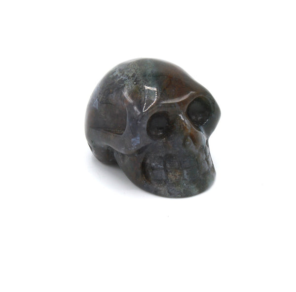 "Bloodstone Skull 2"" - Zero Point Crystals"
