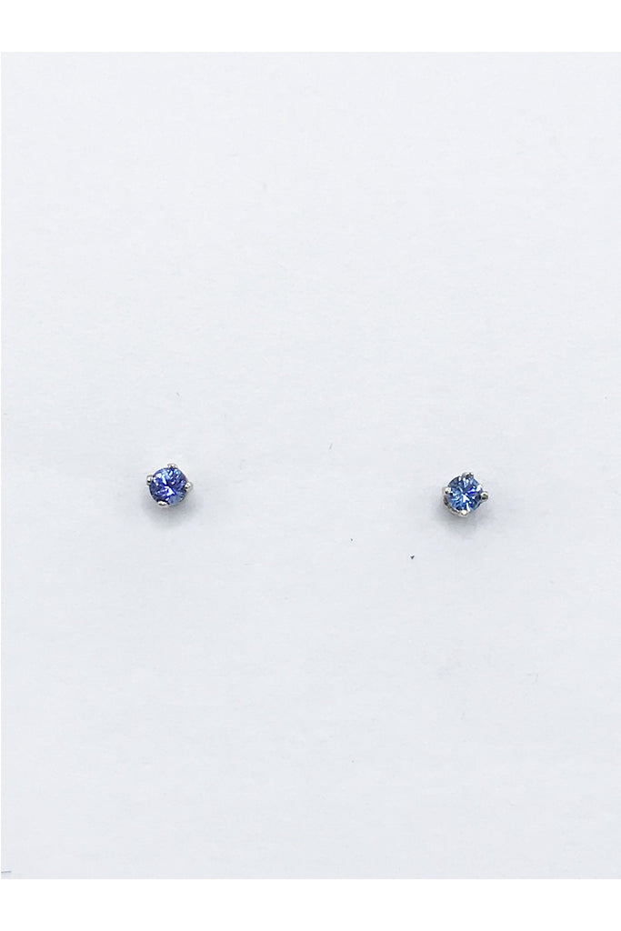 Sapphire (Montana) Earrings - Zero Point Crystals