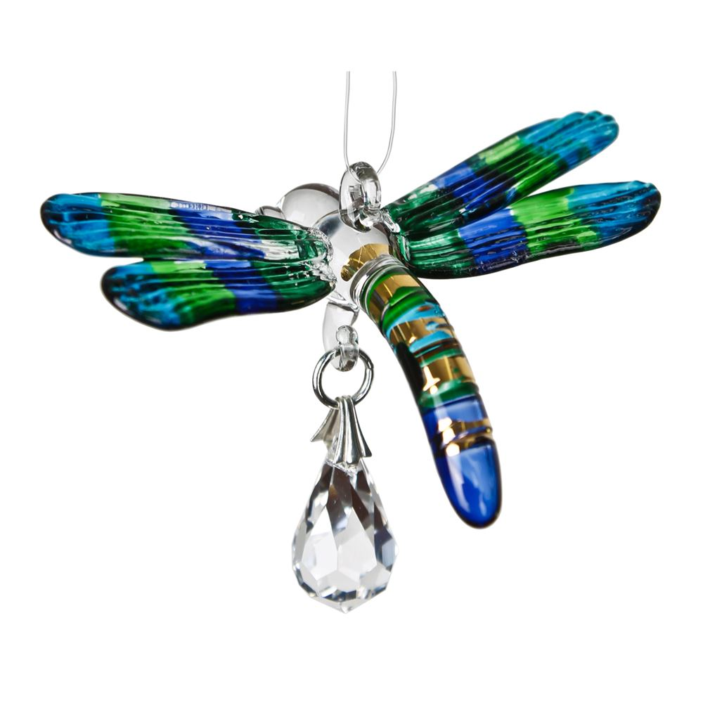 Dragonfly - Fantasy Glass - Zero Point Crystals