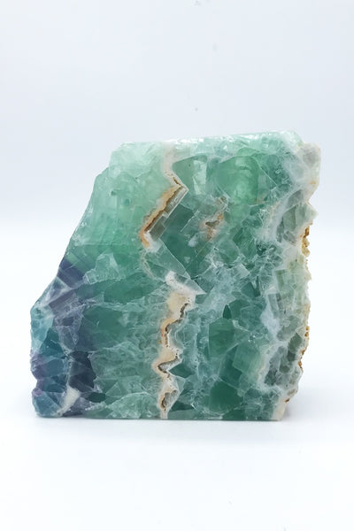 Fluorite Freeform (partial polish) - Zero Point Crystals