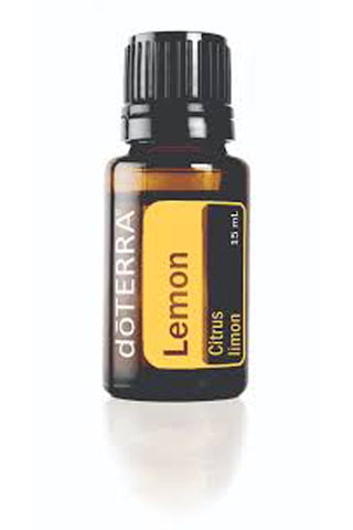 Lemon Essential Oil - Zero Point Crystals