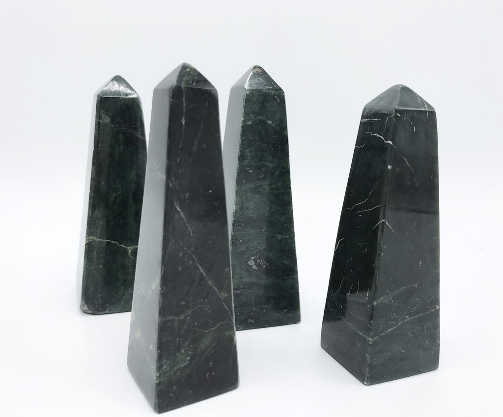 Jade Obelisk - Zero Point Crystals