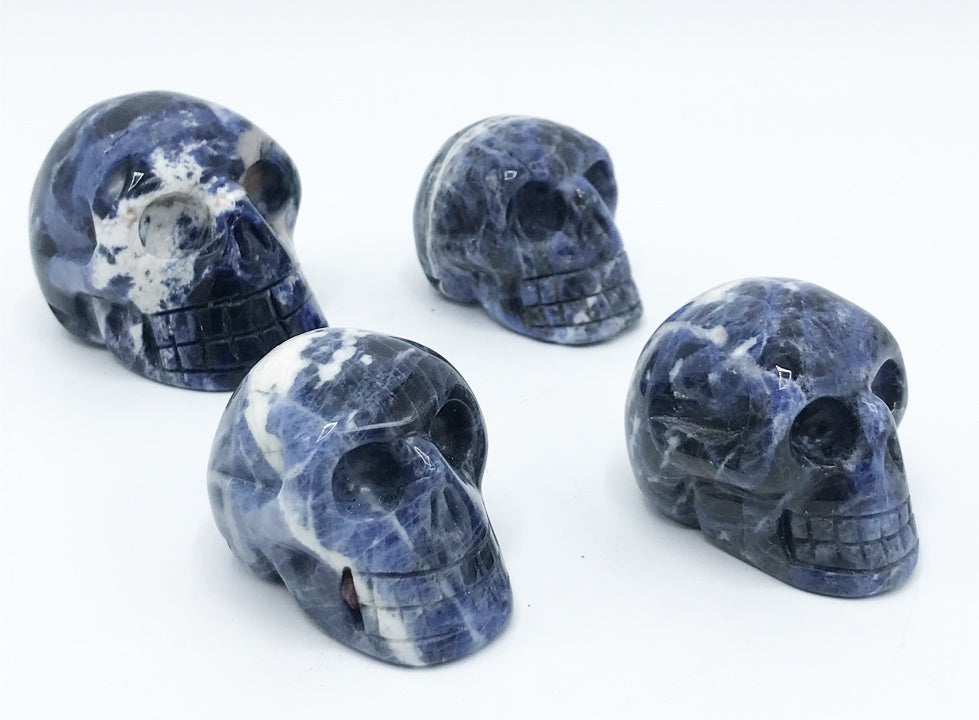Sodalite Skull - Zero Point Crystals