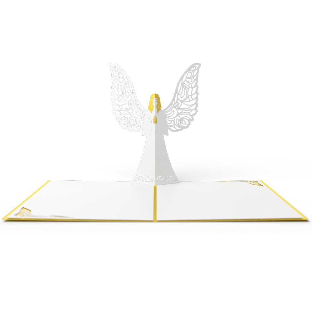 Angel Pop-Up Card - Zero Point Crystals