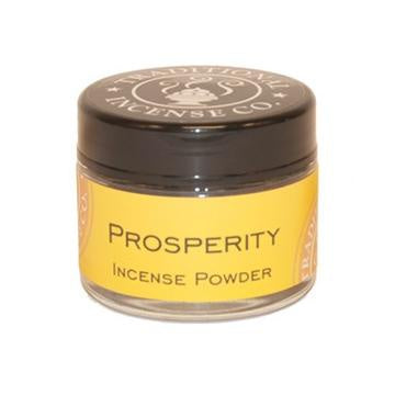 Prosperity Incense Powder Jar - Zero Point Crystals