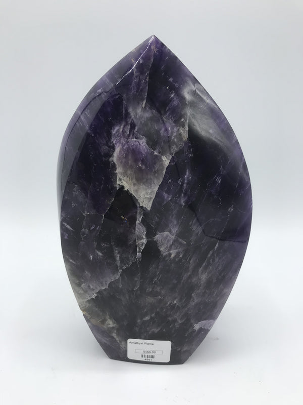 Amethyst Flame 4941 - Zero Point Crystals